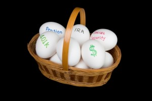All of these eggs lead make up your retirement savings, but are you ensuring each egg is large enough?