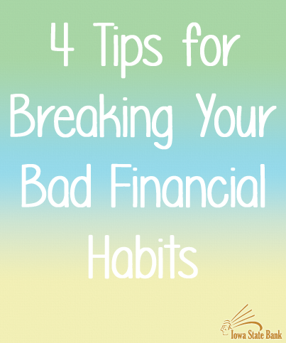 Fix your bad financial habits