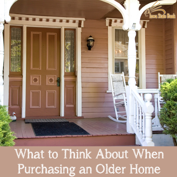 Old home buying tips from ISB