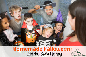 You can save money this Halloween by going homemade!